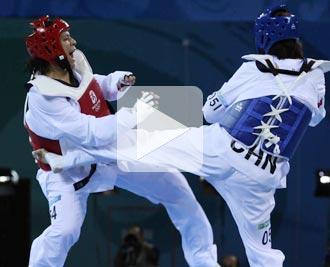 陈中,跆拳道,金牌,08奥运