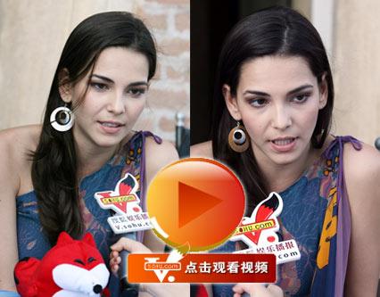 巴西籍女演员Taina 接受搜狐专访