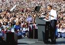 选民参加奥巴马演讲