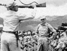 在印度兰姆伽军事基地接受整训的中国远征军