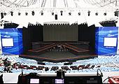 新嘉年华上市现场舞台