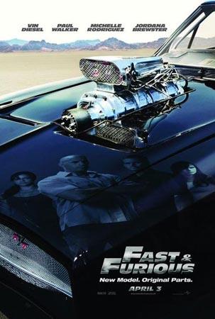 本周冠军:《速度与激情4》