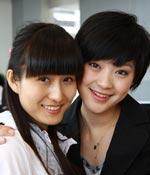 合张影 最爱女主播 2009上海车展