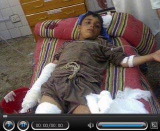 """""""足球炸弹""""瞬间引爆 巴基斯坦12名儿童遇难"""