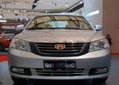 帝豪EC718上海车展实拍