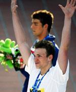 比德尔曼,菲尔普斯,张琳破世界纪录,jaked泳衣,2009罗马游泳世锦赛,世界纪录,第三金,游泳,奥运冠军,张琳,世锦赛,罗马世锦赛,游泳世锦赛
